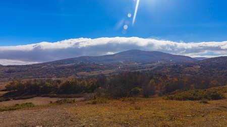 Autumn in the mountains of Azerbaijan Stockfoto