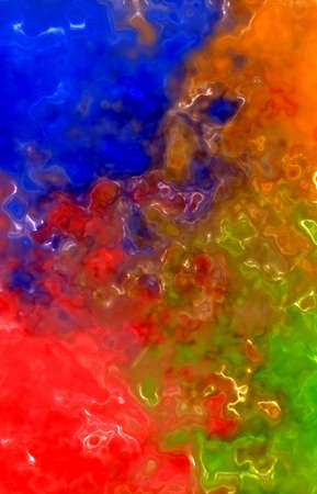 Abstract background from stains of colored paints Imagens