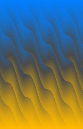 Abstract colored wave background. The background