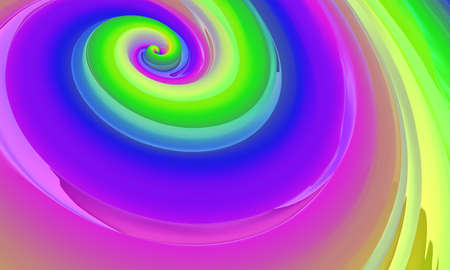 Abstract colored background similar to caramel. Liquid caramel. 3d rendering Imagens