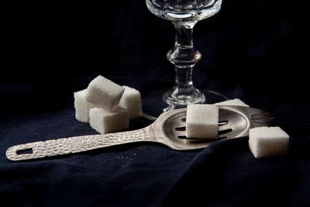 ajenjo: cuchara de absenta