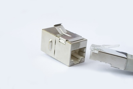 RJ45 Connector Stock Photo - 16293872