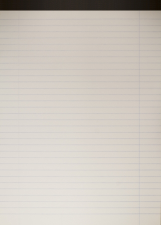 white notebook paper with space for your text  Stock Photo