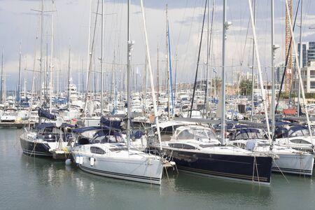 Lo Yacht Club Herzliya Archivio Fotografico