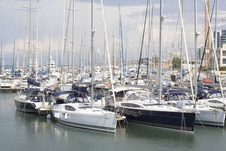 The Herzliya Yacht Club Stock Photo - 16293853
