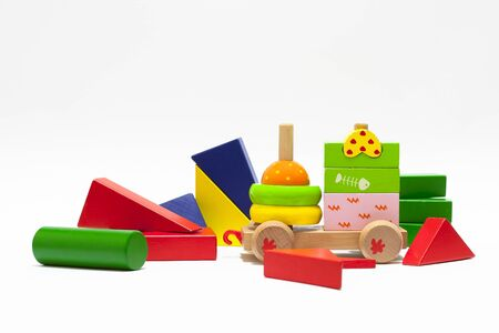 the wooden cubes Stock Photo - 16730033