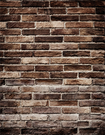Texture of old brick wall grungy background