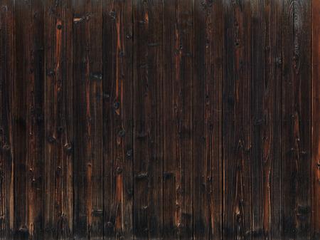 Old dark wood wooden wall texture background