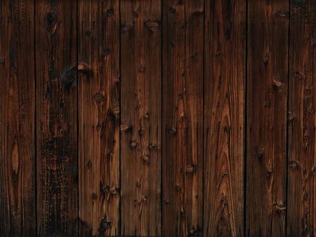 Vieux bois sombre paroi en bois texture de fond