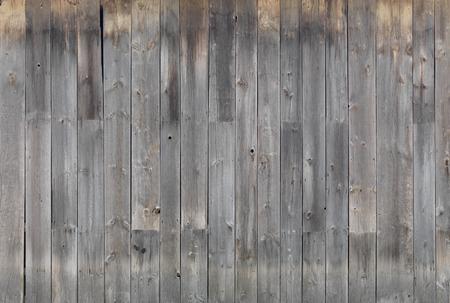 グレー風化木質壁のテクスチャ背景