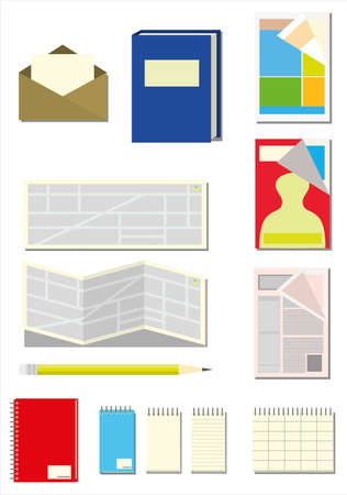 Several Paper Itens (stationery store)