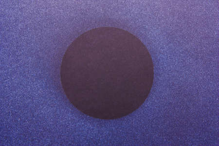 Background black dark blue purple with place for text. Concept space Stock Photo