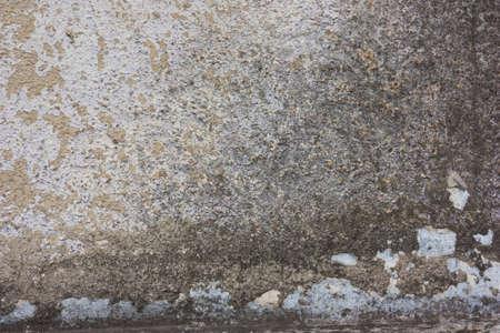 Wall of plaster white, gray green. Grunge, brutal background Foto de archivo - 104942696