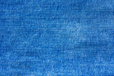 Abstract background, texture made of denim blue fabric Stock Photo