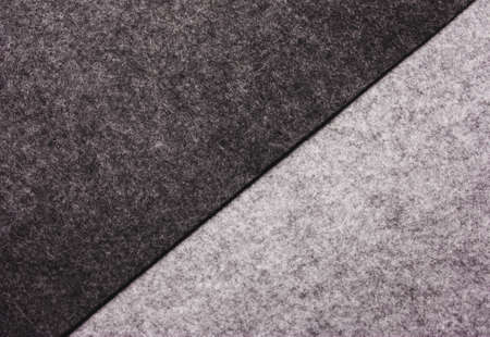 The texture of felt wool. Warm, abstract, soft, gray background. Stockfoto - 111396765