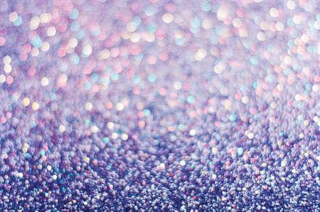 blue background of glitter, blurred, defocused festive, Christmas, New Year.