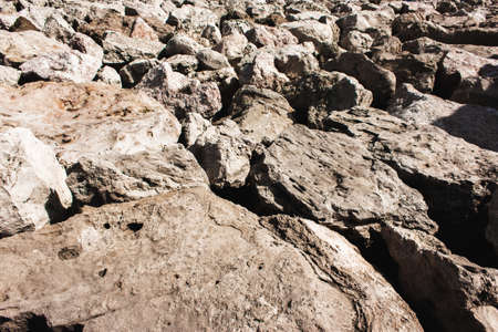 Brutal masculine grunge texture of stone. Mountain rock