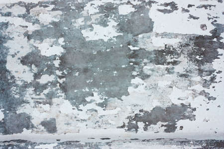 White grunge stucco background with gray cement