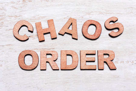 Order and chaos in wooden block