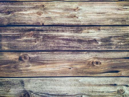 Background of wooden horizontal planks Banque d'images