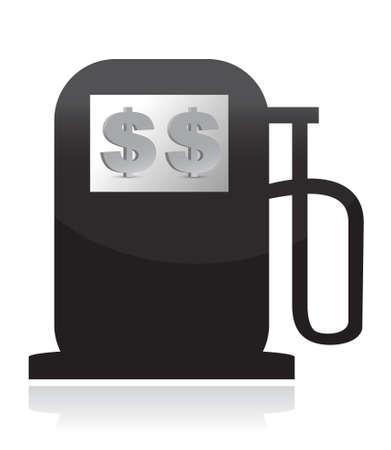 Gas Pump, High Fuel Prices Concept illustration design Stock Vector - 15291861