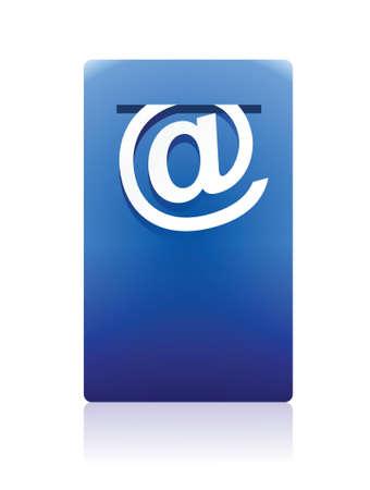 mail box illustration design over white background Stock Vector - 16117577