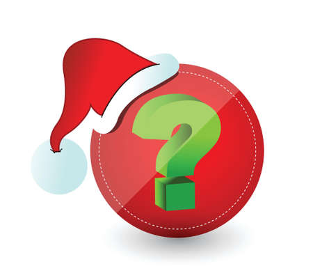 Christmas surprise concept illustration design over a white background design Ilustrace