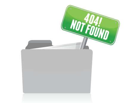 not found: Dise�o de p�gina no encontrada ilustraci�n signo m�s de blanco Vectores