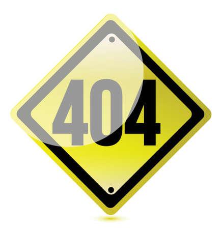 not found: Concepto de error 404. P�gina no encontrada. Ilustraci�n de dise�o Vectores
