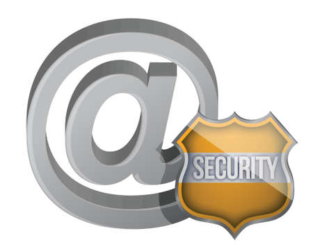 ie: security shield internet graphic concept illustration design