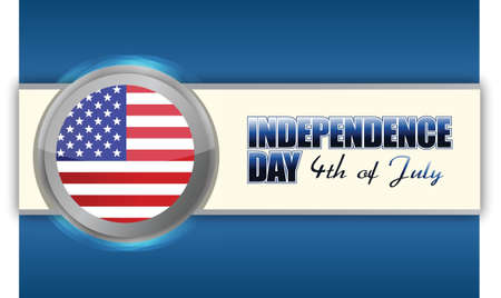 independence day 4th of july, illustration design Stock Vector - 17695387