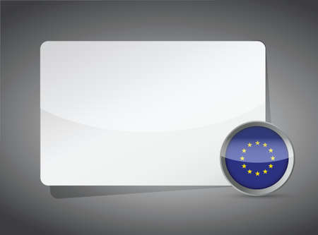 presentation board: Europe presentation board illustration design graphic background