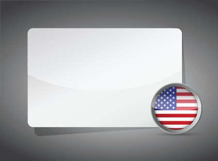 USA presentation board illustration design background graphic Stock Vector - 18063925