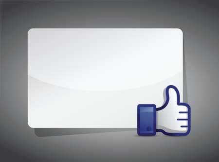 confirmed: message board thumb up illustration design over a white background