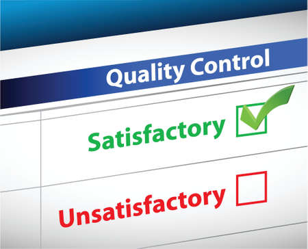tickbox: quality control Results business paperwork illustration design graphic