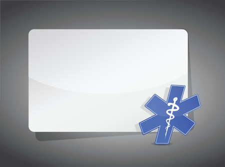 presentation board: medical sign presentation board illustration design graphic Illustration
