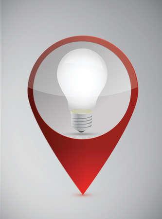 energysaving: marking ideas illustration over a grey background