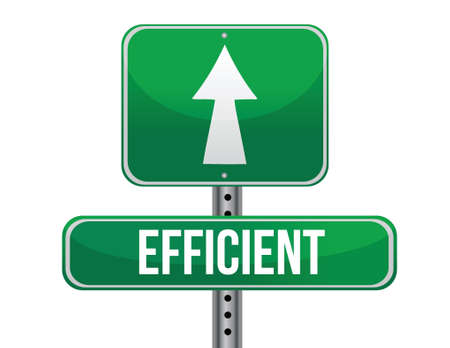 previews: efficient road sign illustration design over a white background