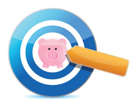 mumps: target great savings. Illustration design over a white background Illustration