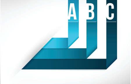 Modern origami info graphics illustration design background template Illustration