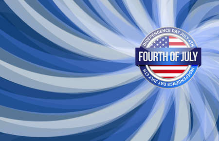 presidents day: fourth of july, independence day patriotic illustration design background