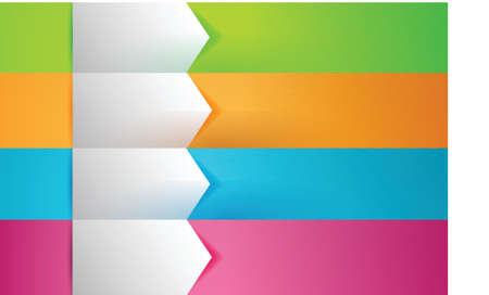 customizable colorful texture Banners Infographics illustration design