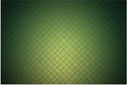 grid: green carbon metallic seamless pattern design background texture Illustration