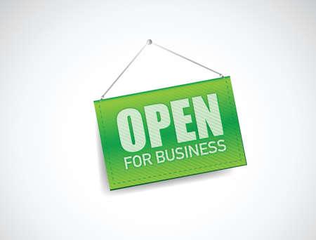 ビジネスの記号の図設計白で開く