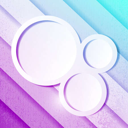 purple and blue paper lines and circles ready for your customization. illustration design illustration