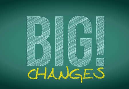 hopeful: big savings sign on a chalkboard. illustration design