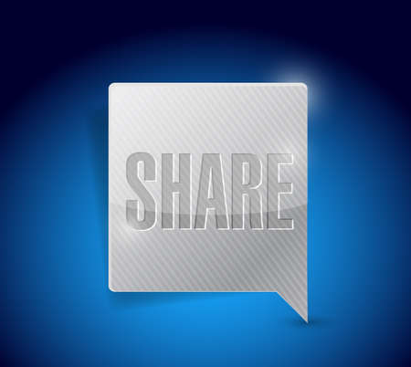share social media button pointer illustration design graphic illustration