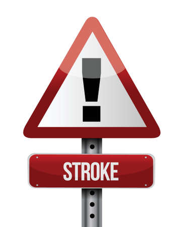 stroke road sign illustration design over a white background Stock Vector - 22165795
