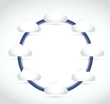 acquaintance: ciclo y dise�o de la nube ilustraci�n
