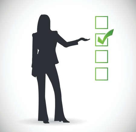 icon presentation check mark illustration design  Stock Vector - 22444833